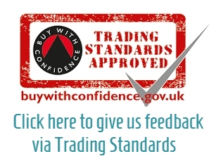 Our Feedback Page on the Buy with Confidence Website